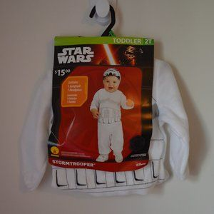 Disney Star Wars Stormtrooper Toddler 2T Costume